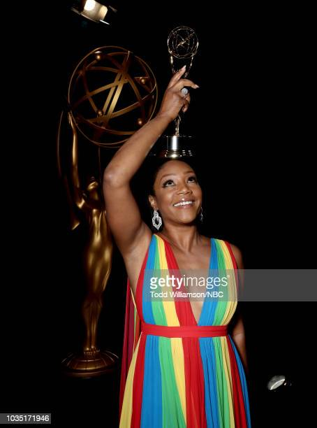 70th ANNUAL PRIMETIME EMMY AWARDS Pictured Actor Tiffany Haddish attends the 70th Annual Primetime Emmy Awards held at the Microsoft Theater on...