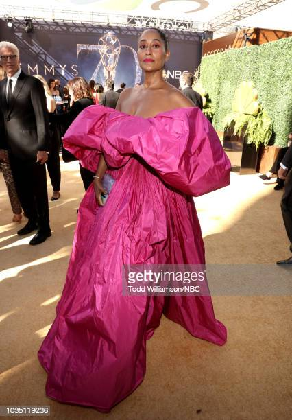 70th ANNUAL PRIMETIME EMMY AWARDS Pictured Actor Tracee Ellis Ross arrives to the 70th Annual Primetime Emmy Awards held at the Microsoft Theater on...