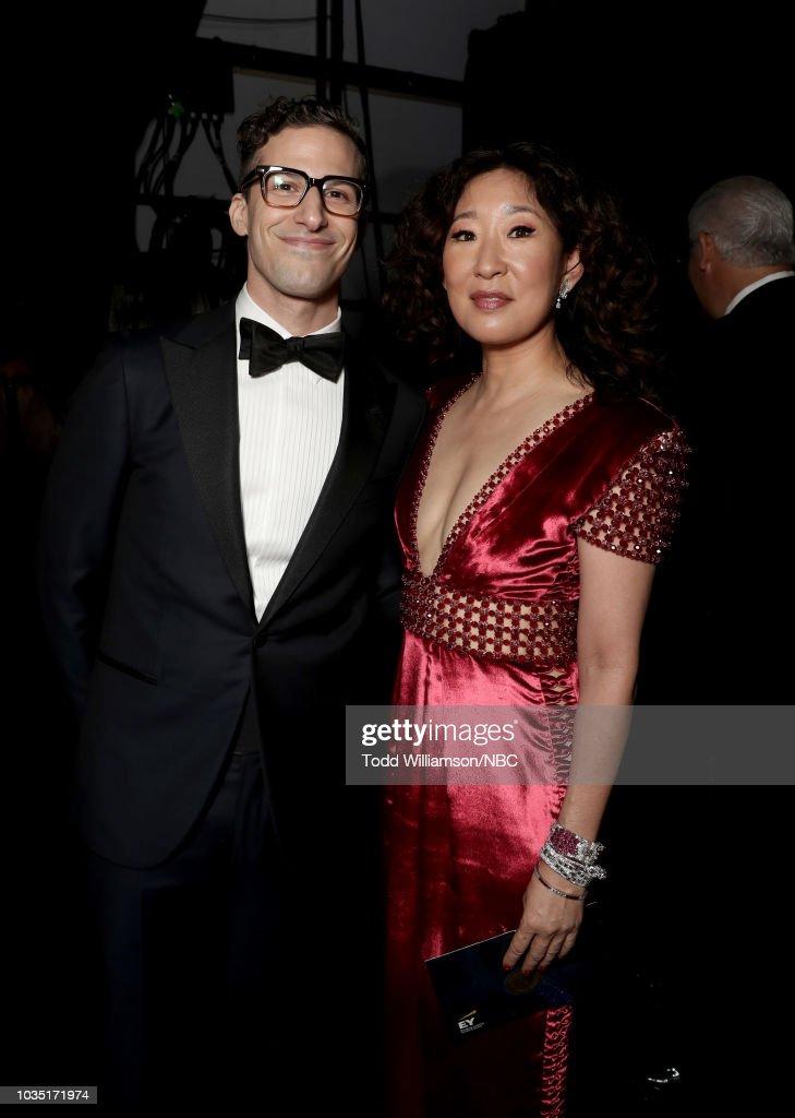 "NBC's ""70th Annual Primetime Emmy Awards"" - Backstage : News Photo"