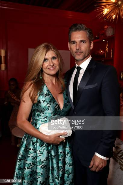 70th ANNUAL PRIMETIME EMMY AWARDS Pictured Actors Connie Britton and Eric Bana attend the 70th Annual Primetime Emmy Awards held at the Microsoft...