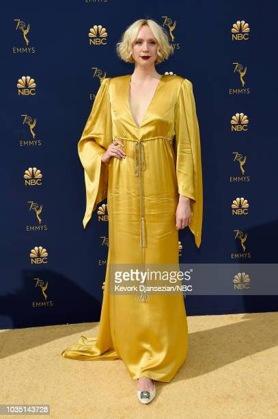 70th ANNUAL PRIMETIME EMMY AWARDS Pictured Gwendoline Christie arrives to the 70th Annual Primetime Emmy Awards held at the Microsoft Theater on...