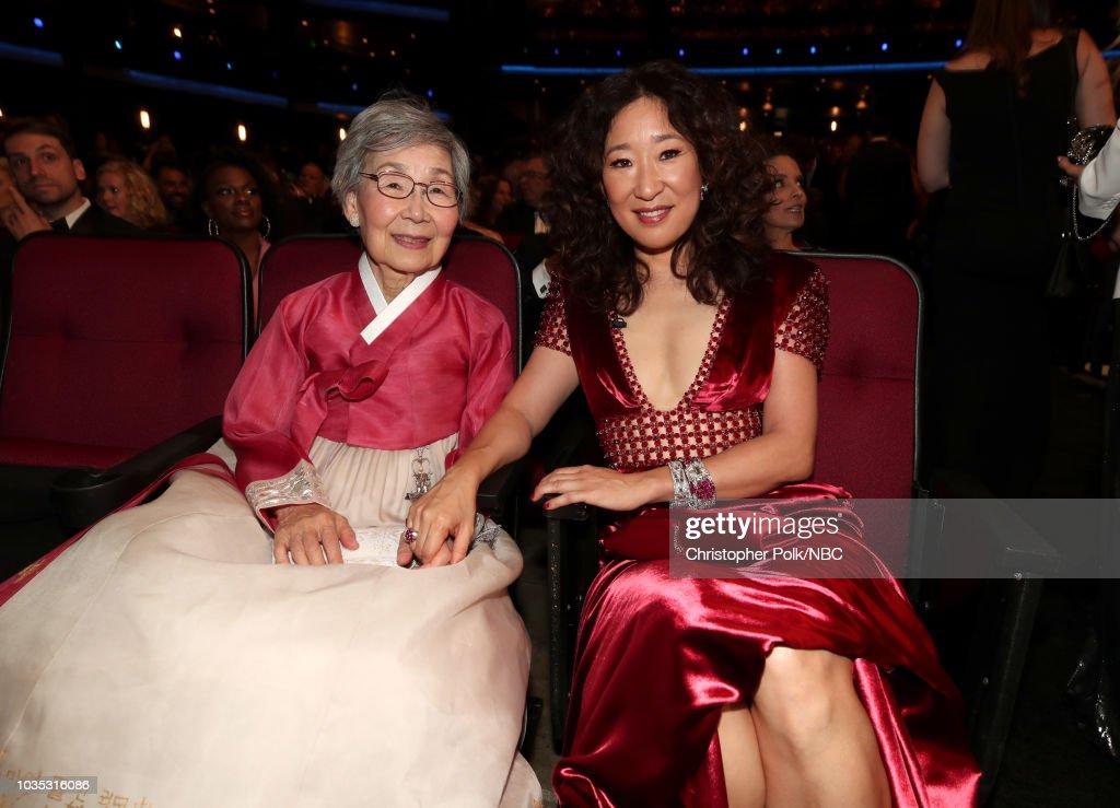 "NBC's ""70th Annual Primetime Emmy Awards"" - Show : News Photo"