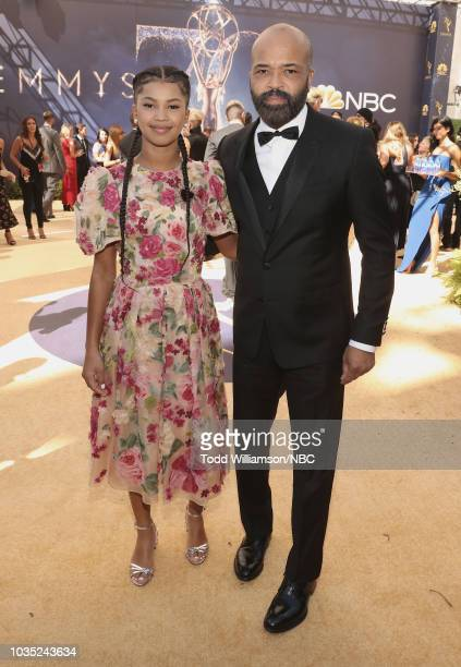 70th ANNUAL PRIMETIME EMMY AWARDS Pictured Juno Wright and Jeffrey Wright arrive to the 70th Annual Primetime Emmy Awards held at the Microsoft...