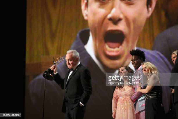 70th ANNUAL PRIMETIME EMMY AWARDS Pictured Actors Patricia Arquette Ben Stiller and Benicio del Toro present Outstanding Limited Series for 'The...
