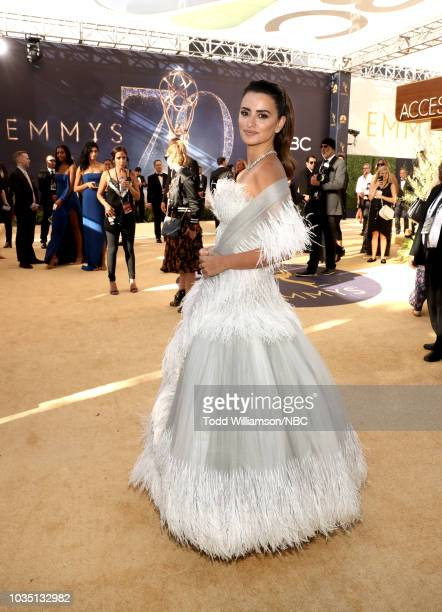 70th ANNUAL PRIMETIME EMMY AWARDS Pictured Penelope Cruz arrives to the 70th Annual Primetime Emmy Awards held at the Microsoft Theater on September...