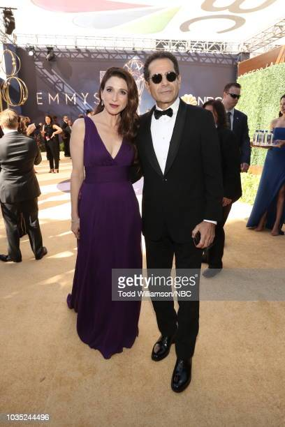 70th ANNUAL PRIMETIME EMMY AWARDS Pictured Tony Shalhoub arrives to the 70th Annual Primetime Emmy Awards held at the Microsoft Theater on September...