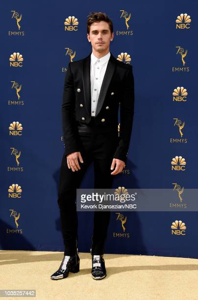 70th ANNUAL PRIMETIME EMMY AWARDS Pictured TV personality Antoni Porowski arrives to the 70th Annual Primetime Emmy Awards held at the Microsoft...