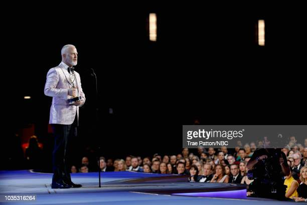 70th ANNUAL PRIMETIME EMMY AWARDS -- Pictured: Writer/director Ryan Murphy accepts Outstanding Directing for a Limited Series, Movie, or Dramatic...