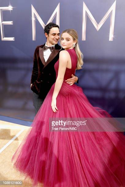 70th ANNUAL PRIMETIME EMMY AWARDS Pictured Zac Posen and Joey King arrive to the 70th Annual Primetime Emmy Awards held at the Microsoft Theater on...
