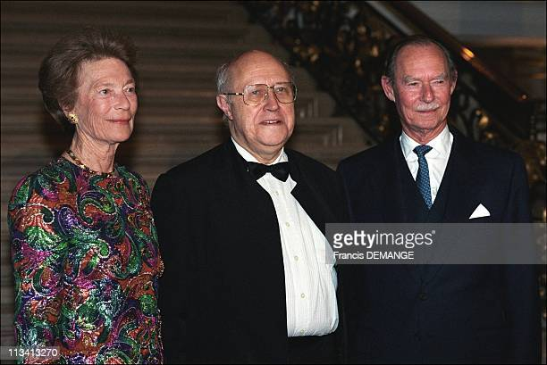 70th Birthday Of Grand Duchess JosephineCharlotte On October 15th 1997 In Luxembourg Luxembourg
