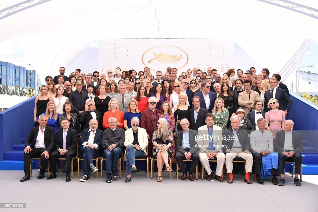 70th Cannes Film Festival - 70th Anniversary Photocall : News Photo