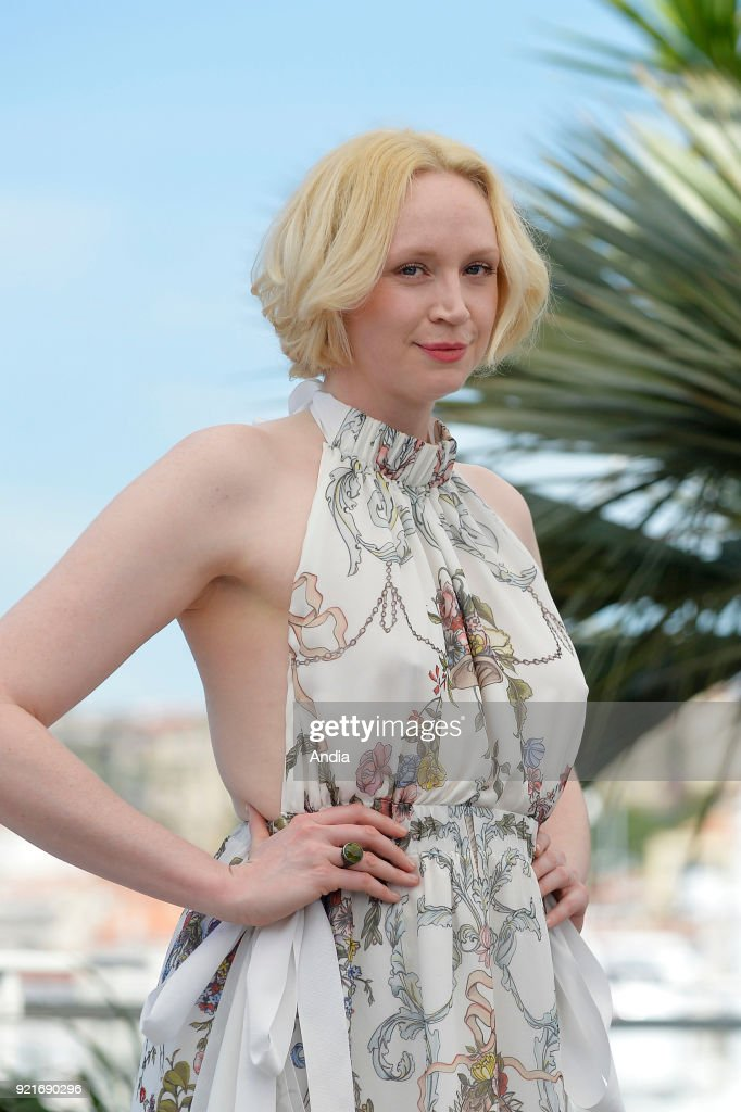 actress Gwendoline Christie here for the promotion of the TV series Top of the Lake: China Girl ().