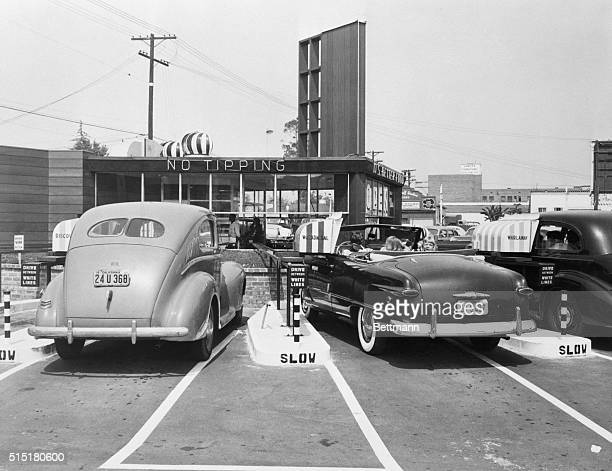 7/10/1948Los Angeles CA Hollywood has done it again The latest in driveins 'The Track' has perfected the science of automobileservice and exercise...