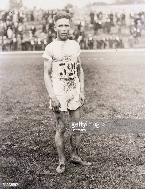 7/15/1924Paris France Willie Ritola the Americantrained distance runner who scored for Finland in the 10000meter run and other distance events poses...