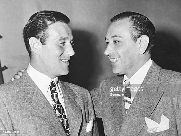 7/18/1944Hollywood CA When his friend Benjamin Siegel was called into court in connection with charges of book making in a swank Hollywood apartment...