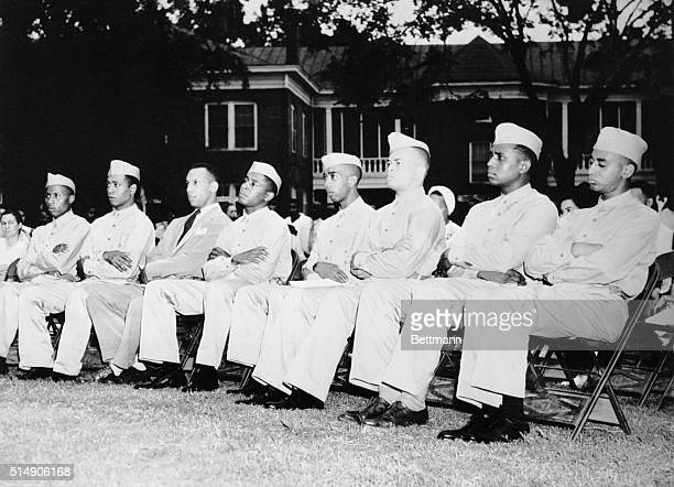 7/19/1941Tuskegee AL Among the first students to enter the US Air Corps school at Tuskegee Institute will be these Negro flying cadets shown as they...