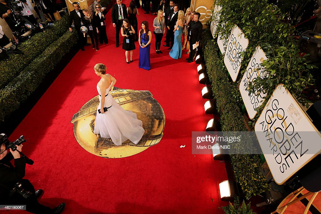 71st ANNUAL GOLDEN GLOBE AWARDS -- Pictured: A general view of atmosphere at the 71st Annual Golden Globe Awards held at the Beverly Hilton Hotel on January 12, 2014 --