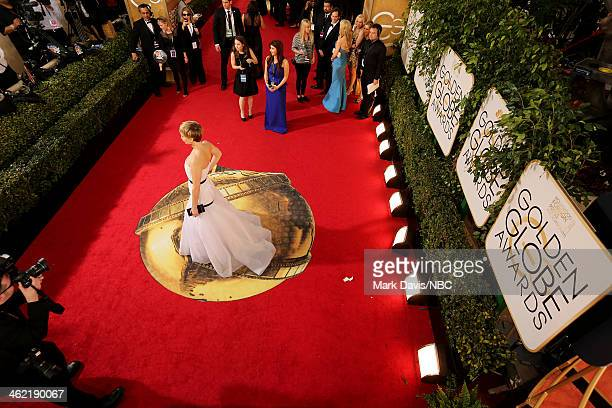 71st ANNUAL GOLDEN GLOBE AWARDS Pictured A general view of atmosphere at the 71st Annual Golden Globe Awards held at the Beverly Hilton Hotel on...
