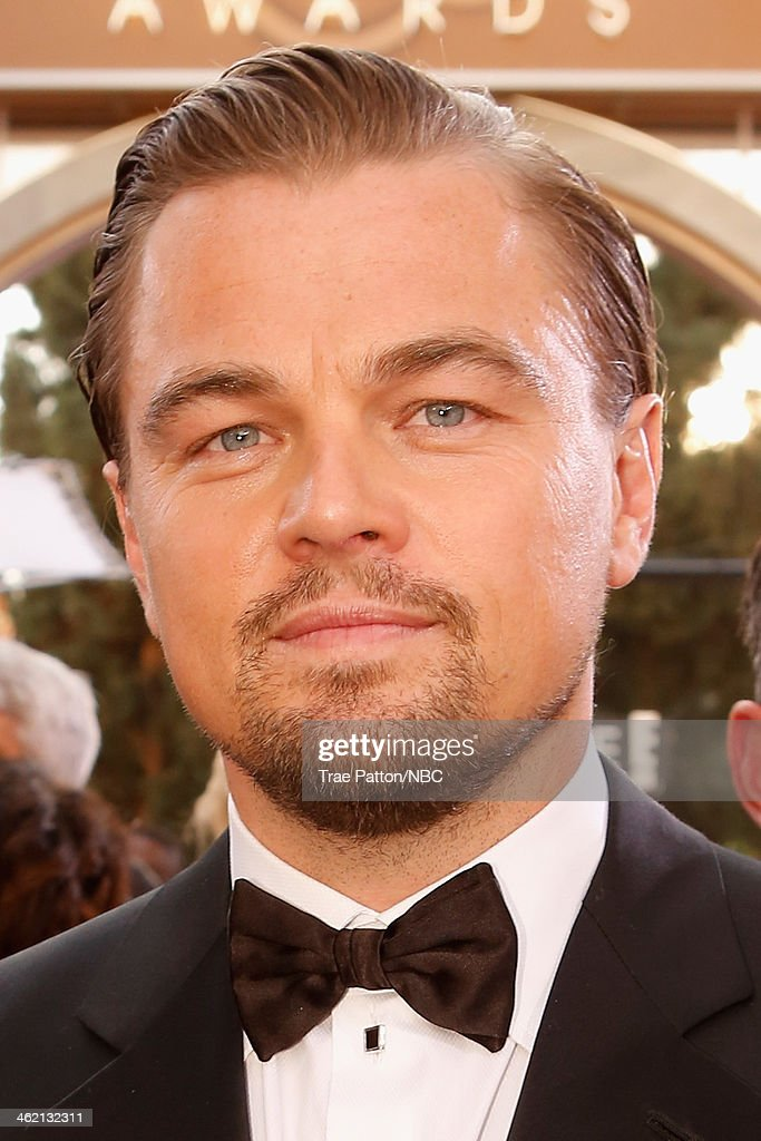 71st ANNUAL GOLDEN GLOBE AWARDS -- Pictured: Actor Leonardo DiCaprio arrives to the 71st Annual Golden Globe Awards held at the Beverly Hilton Hotel on January 12, 2014 --