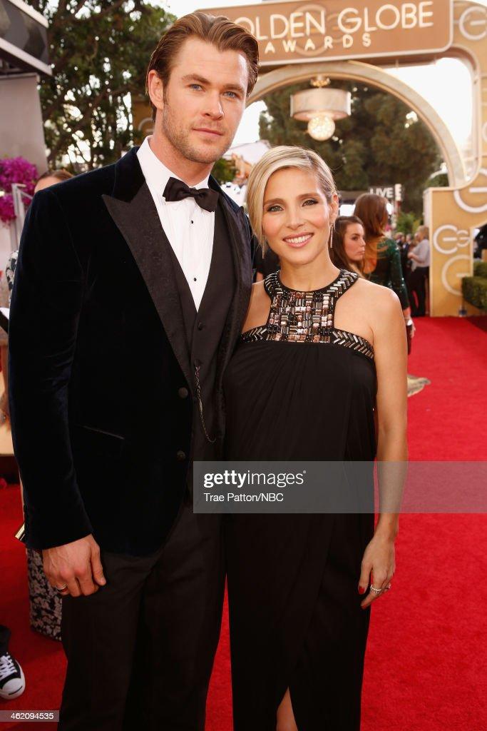 "NBC's ""71st Annual Golden Globe Awards"" - Red Carpet Arrivals : News Photo"
