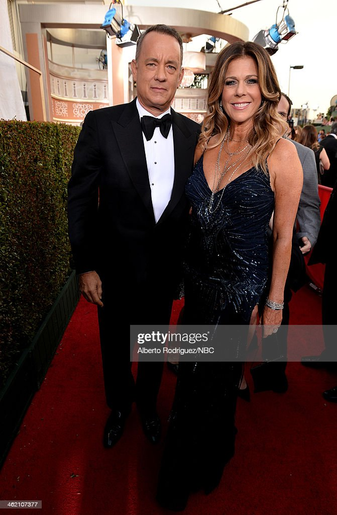 "NBC's ""71st Annual Golden Globe Awards"" - Red Carpet Arrivals : Fotografía de noticias"