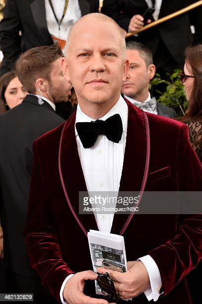 71st ANNUAL GOLDEN GLOBE AWARDS Pictured Producer Ryan Murphy arrives to the 71st Annual Golden Globe Awards held at the Beverly Hilton Hotel on...