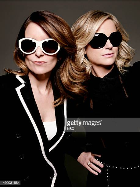 AWARDS 71st Annual Golden Globe Awards Pictured Tina Fey Host Amy Poehler Host
