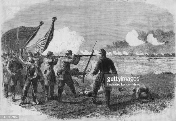 71st New York State Volunteer Infantry from the Second Brigade of the Second Division Union Army of Northeastern Virginia under Brigadier General...