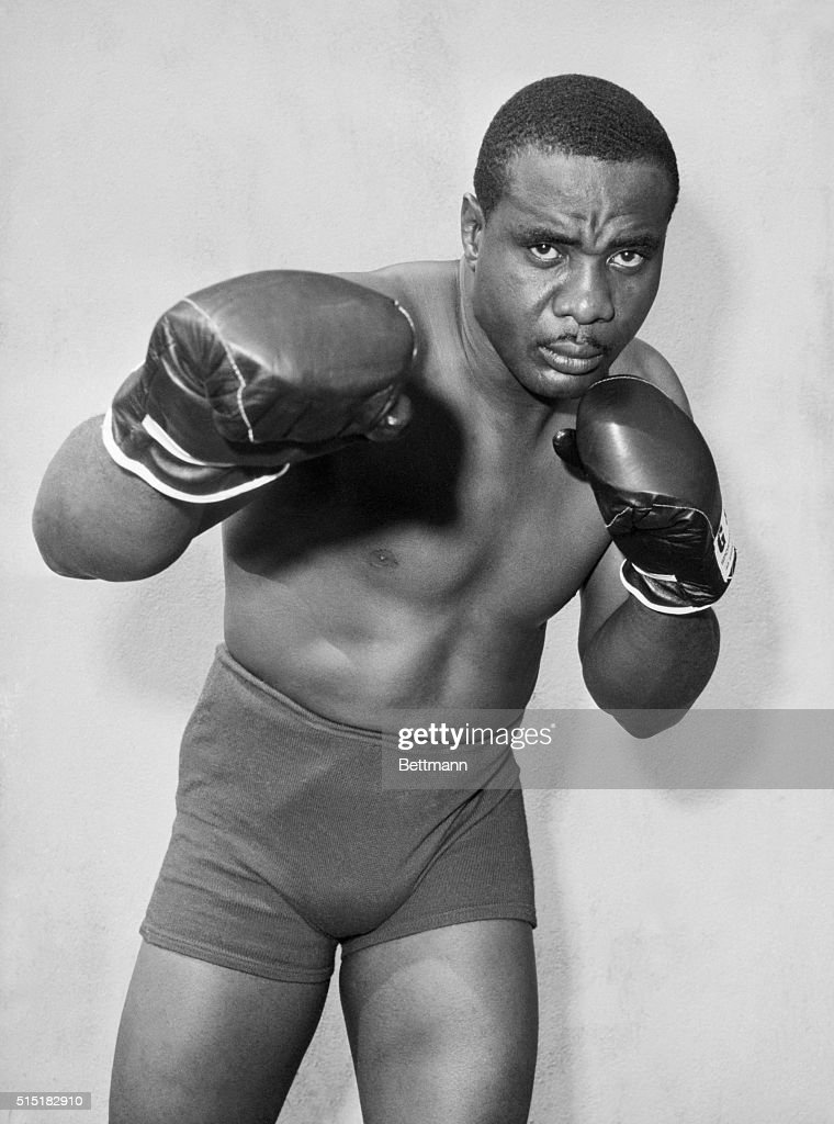 South Fallsburg, New York- Sonny Liston is shown in these posed action photos at his Pines Hotel training camp in preparation for his upcoming bout with heavyweight champion, Floyd Patterson.