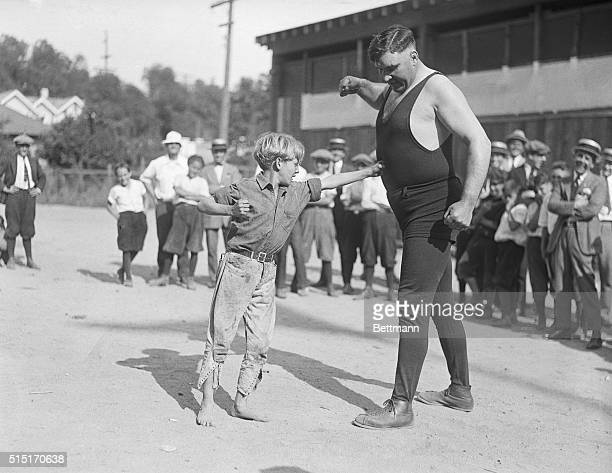 7/2/1922Hollywood California First photos of Jess Willard former heavyweight champion of the world who starts training for a return bout with Jack...