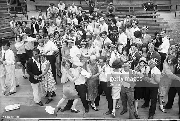 7/22/1928New York Ny Photo shows a view of the dance Marathon which started at Coney Island with forty couples most of them winners of previous dance...