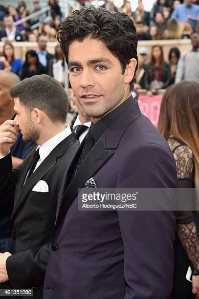 72nd ANNUAL GOLDEN GLOBE AWARDS Pictured Actor Adrian Grenier arrives to the 72nd Annual Golden Globe Awards held at the Beverly Hilton Hotel on...