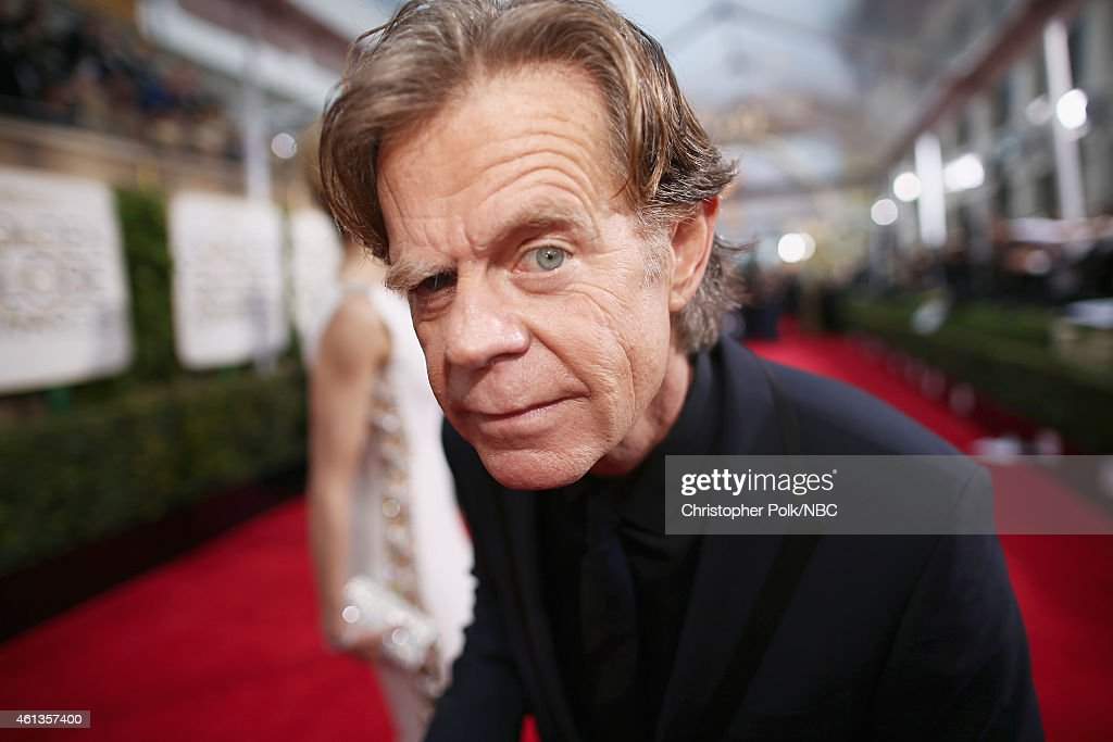 72nd ANNUAL GOLDEN GLOBE AWARDS -- Pictured: Actor William H. Macy arrives to the 72nd Annual Golden Globe Awards held at the Beverly Hilton Hotel on January 11, 2015.