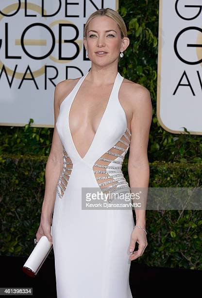 72nd ANNUAL GOLDEN GLOBE AWARDS Pictured Actress Kate Hudson arrives to the 72nd Annual Golden Globe Awards held at the Beverly Hilton Hotel on...
