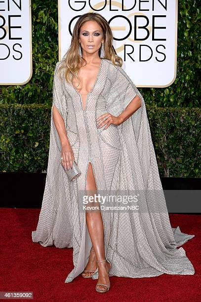 72nd ANNUAL GOLDEN GLOBE AWARDS Pictured Actress/singer Jennifer Lopez arrives to the 72nd Annual Golden Globe Awards held at the Beverly Hilton...