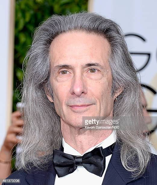 72nd ANNUAL GOLDEN GLOBE AWARDS Pictured Musician Lenny Kaye arrives to the 72nd Annual Golden Globe Awards held at the Beverly Hilton Hotel on...