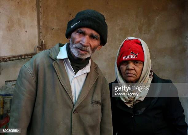 72yearold Pakistani man Mahmoud Fadil Ekrem and his 62yearold wife Seqral Bibi who were isolated at Syrias Eastern Ghouta which is under blockade by...