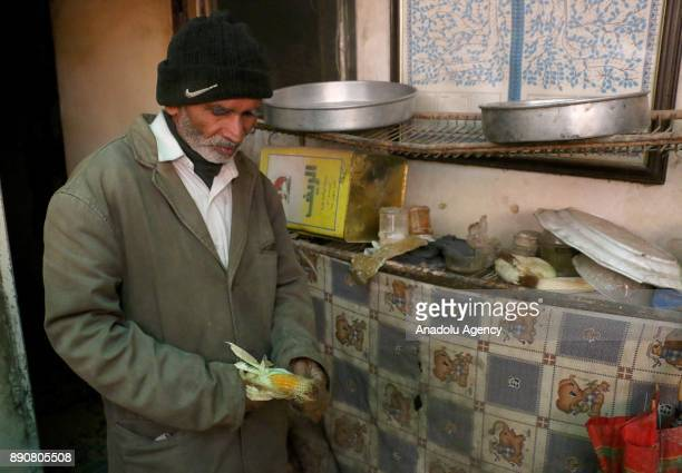 72yearold Pakistani man Mahmoud Fadil Ekrem who was isolated at Syrias Eastern Ghouta which is under blockade by Assad regime with his 62yearold wife...