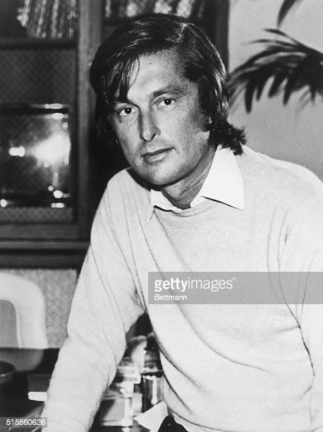 7/31/1981Photo shows a closeup of movie producer Robert Evans