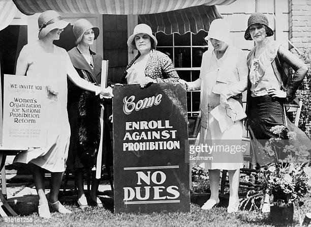 7/3/1930Birmingham MI Women comducting a vigorous campaign against Prohibition