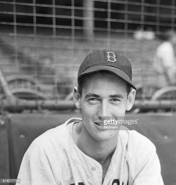 Here is a close up of Ted Williams who once said he'd rather be a fireman and is as hard to put out these days as any four alarmer