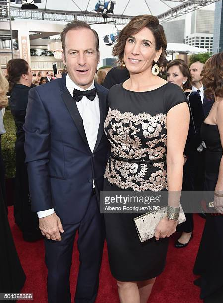 73rd ANNUAL GOLDEN GLOBE AWARDS Pictured Actor Bob Odenkirk and producer/talent manager Naomi Odenkirk arrive to the 73rd Annual Golden Globe Awards...