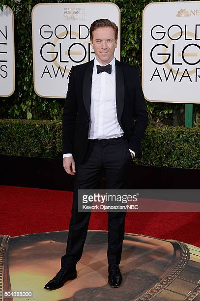73rd ANNUAL GOLDEN GLOBE AWARDS Pictured Actor Damian Lewis arrives to the 73rd Annual Golden Globe Awards held at the Beverly Hilton Hotel on...