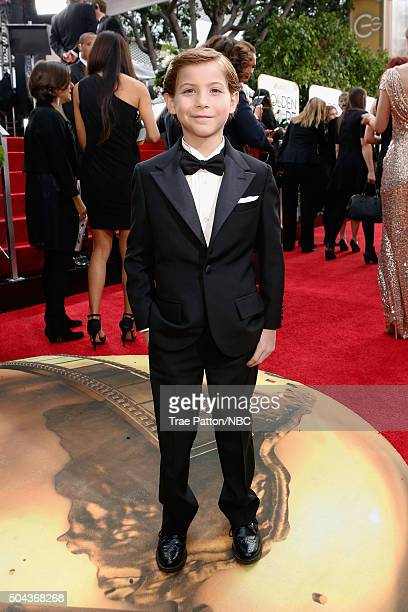 73rd ANNUAL GOLDEN GLOBE AWARDS Pictured Actor Jacob Tremblay arrives to the 73rd Annual Golden Globe Awards held at the Beverly Hilton Hotel on...