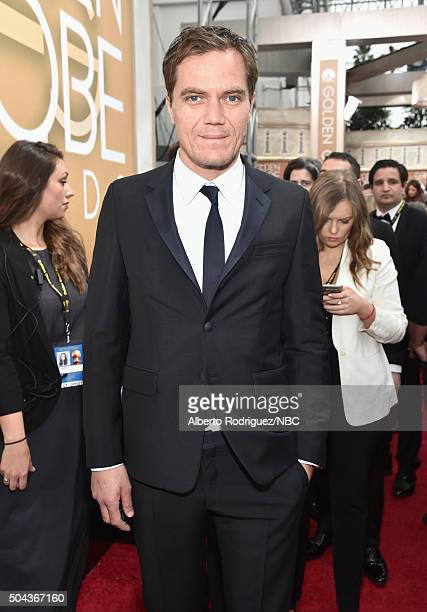 73rd ANNUAL GOLDEN GLOBE AWARDS Pictured Actor Michael Shannon arrives to the 73rd Annual Golden Globe Awards held at the Beverly Hilton Hotel on...