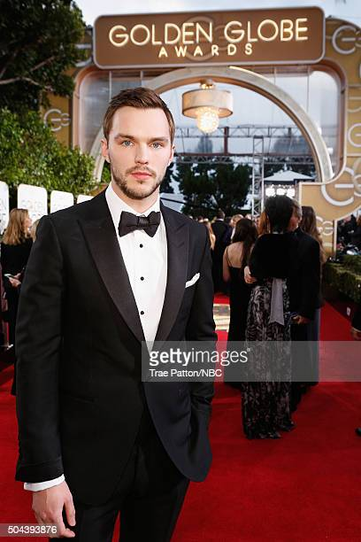 73rd ANNUAL GOLDEN GLOBE AWARDS Pictured Actor Nicholas Hoult arrives to the 73rd Annual Golden Globe Awards held at the Beverly Hilton Hotel on...