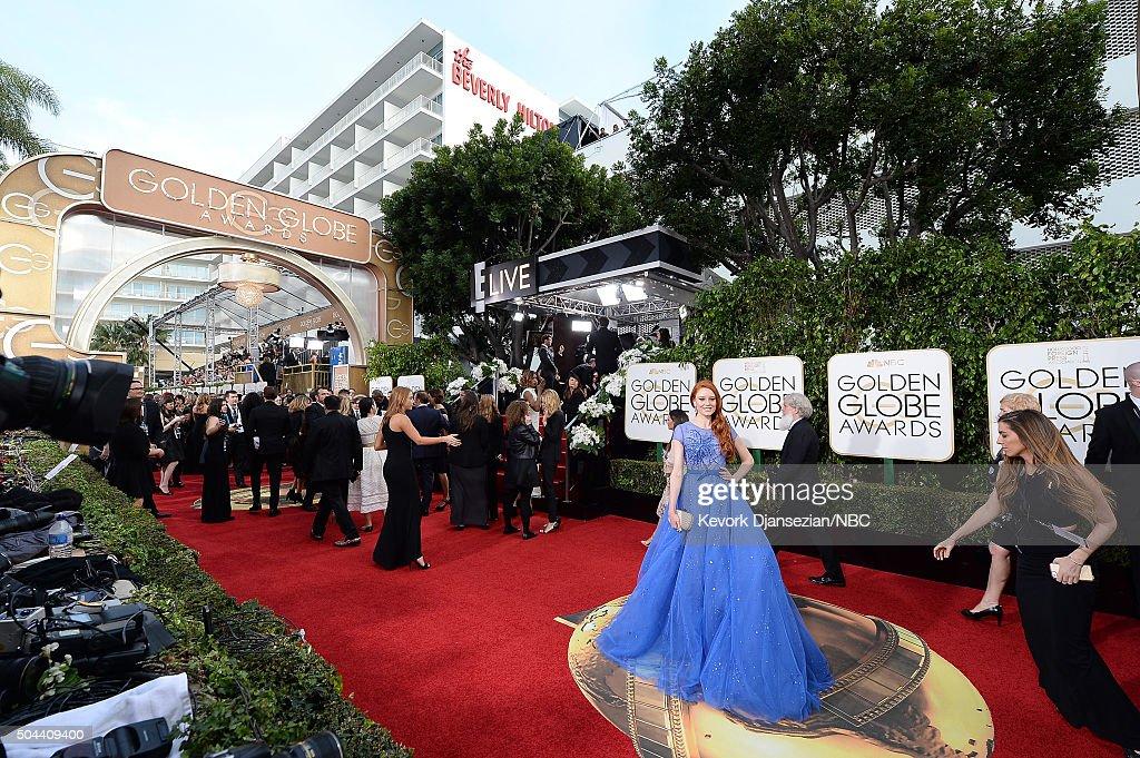 NBC's '73rd Annual Golden Globe Awards' - Arrivals : Nachrichtenfoto