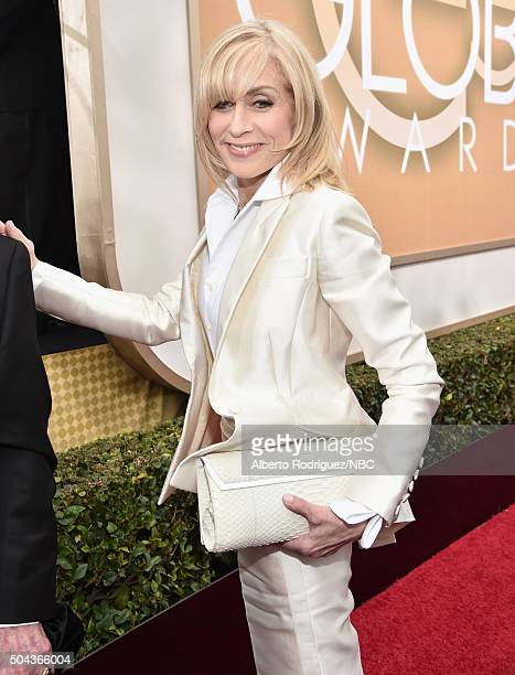 73rd ANNUAL GOLDEN GLOBE AWARDS Pictured Actress Judith Light arrives to the 73rd Annual Golden Globe Awards held at the Beverly Hilton Hotel on...