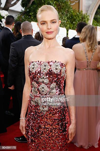 73rd ANNUAL GOLDEN GLOBE AWARDS Pictured Actress Kate Bosworth arrives to the 73rd Annual Golden Globe Awards held at the Beverly Hilton Hotel on...
