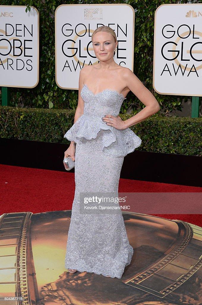 "NBC's ""73rd Annual Golden Globe Awards"" - Arrivals : Nachrichtenfoto"